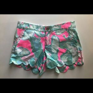 Lilly pulizter buttercup shorts size 2
